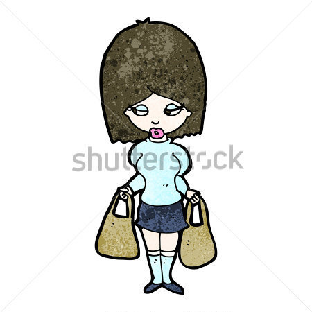 cartoon-woman-with-shopping-bags_116759056