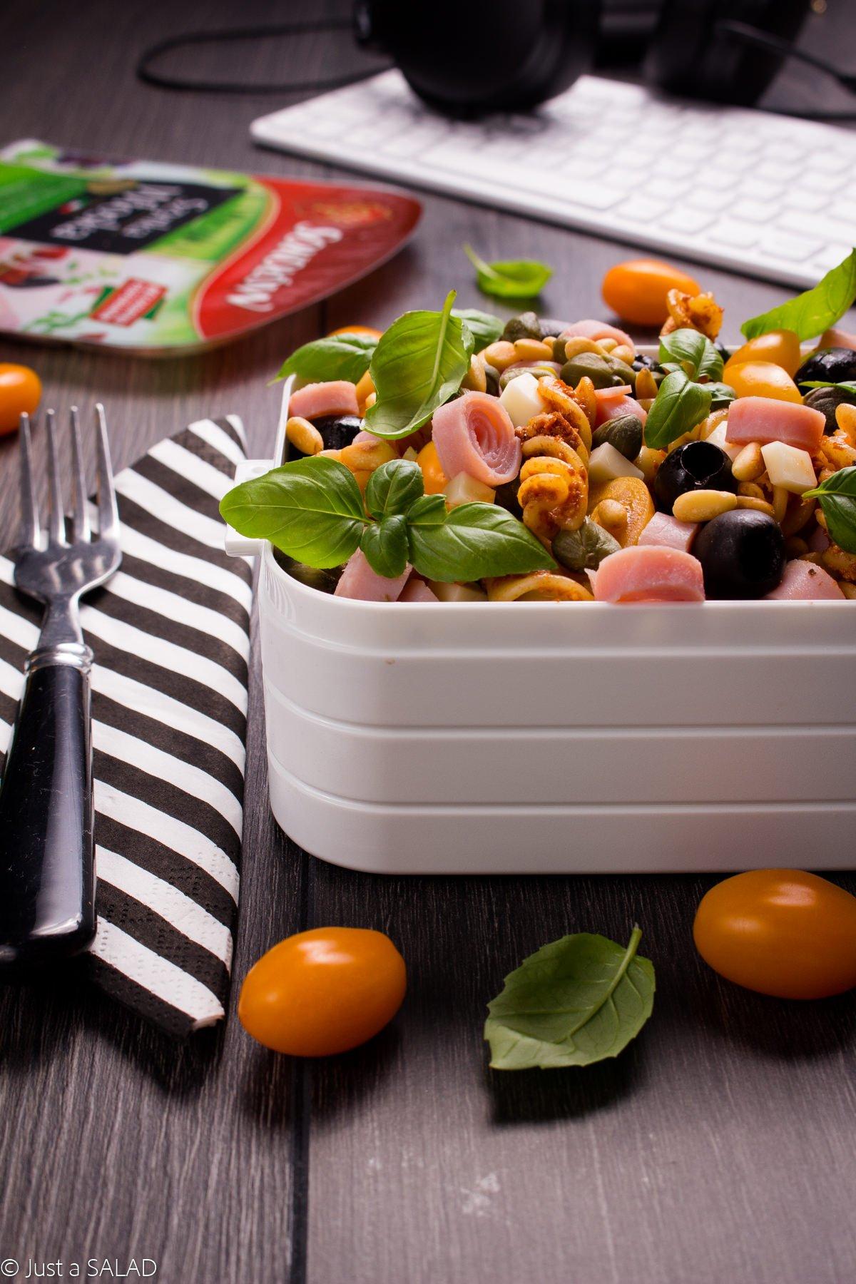 Lunchbox w stylu włoskim